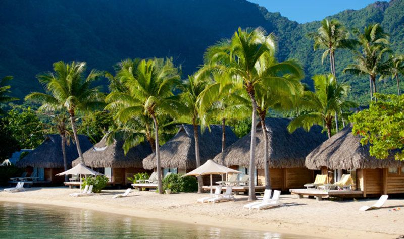 Moorea Family Escape Huts